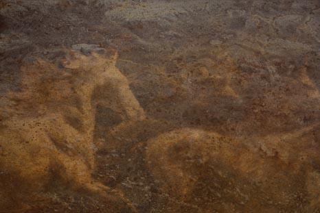 Pferde Gemälde von Künstler und Pferdemaler Michael Hotz
